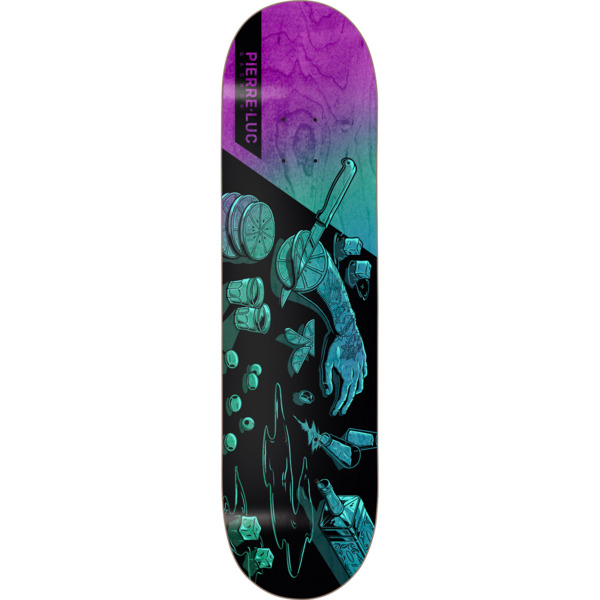 "Darkstar Skateboards Pierre-Luc Gagnon Augmented Reality Multi Colored Skateboard Deck Resin-7 - 8.25"" x 32"""