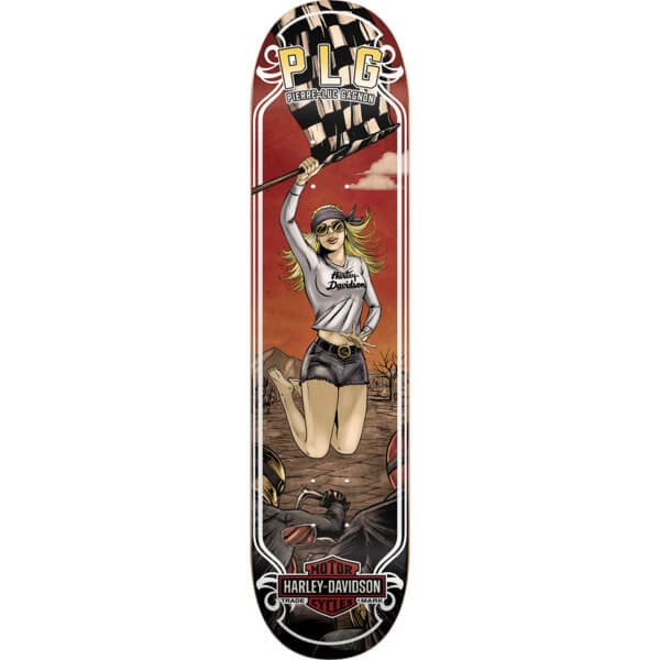 Darkstar Skateboards Pierre Luc Gagnon Harley Motor