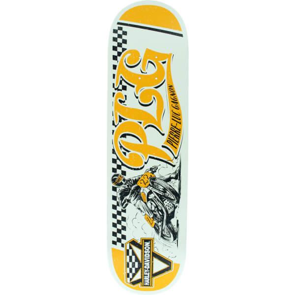 "Darkstar Skateboards Pierre-Luc Gagnon Racing Harley Davidson Skateboard Deck Resin-7 - 8"" x 31.6"""
