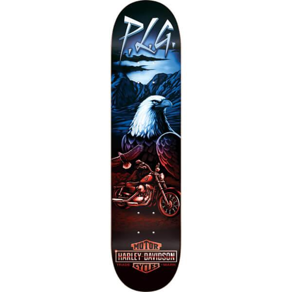 "Darkstar Skateboards Pierre-Luc Gagnon Vintage Harley Skateboard Deck Resin-7 - 8.125"" x 31.8"""