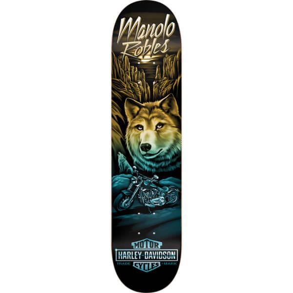 "Darkstar Skateboards Manolo Robles Vintage Harley Skateboard Deck Resin-7 - 8"" x 31.6"""