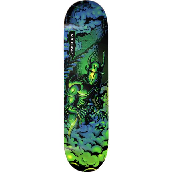 "Darkstar Skateboards Cameo Wilson Inception Green / Blue Skateboard Deck Resin-7 - 8.12"" x 31.7"""