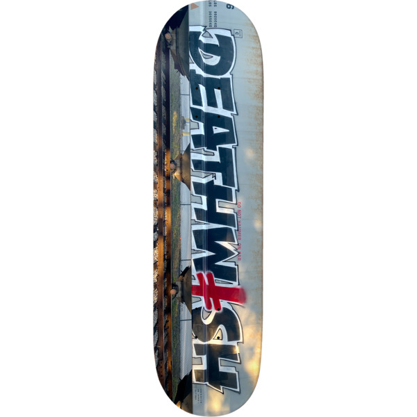 "Deathwish Skateboards Bombing Trains Skateboard Deck - 8.47"" x 31.875"""