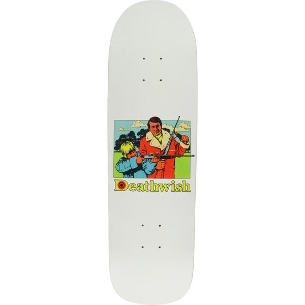 """Deathwish Skateboards Bullseye Skateboard Deck - 8.62"""" x 32"""""""