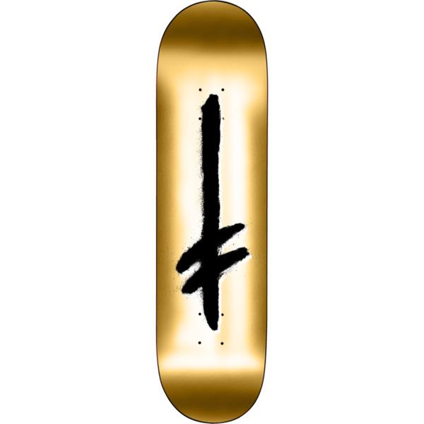 "Deathwish Skateboards Credo Gold Foil Skateboard Deck - 8"" x 31.875"""