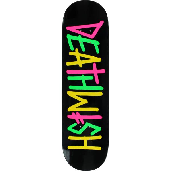"Deathwish Skateboards Deathspray Multi OG Skateboard Deck - 8.25"" x 31.5"""
