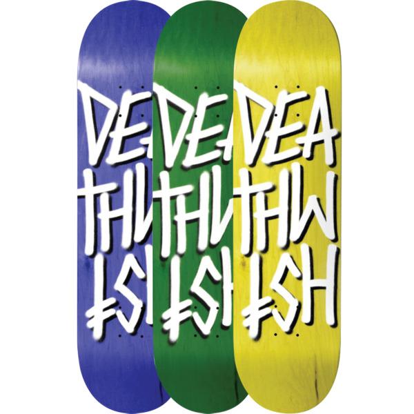 """Deathwish Skateboards Deathstack Assorted Veneers Skateboard Deck - 8.25"""" x 31.5"""""""