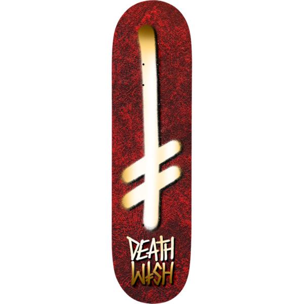 "Deathwish Skateboards Gang Logo Holy Skateboard Deck - 8.38"" x 32"""