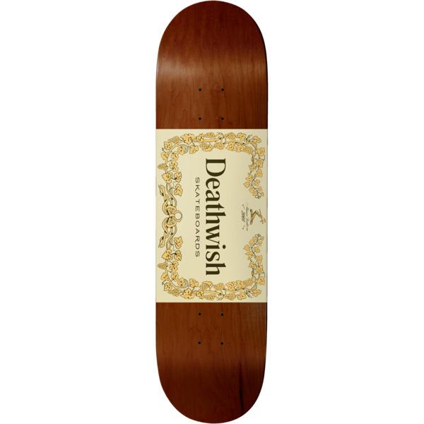 "Deathwish Skateboards 40 Proof Skateboard Deck - 8.38"" x 32"""
