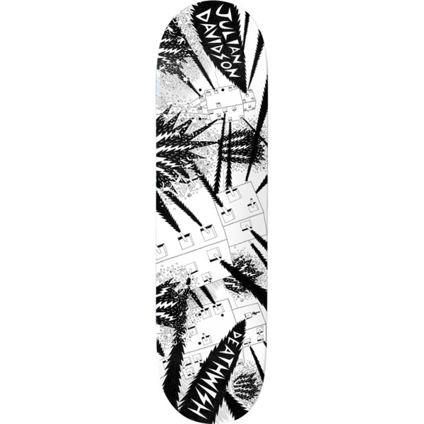 """Deathwish Skateboards Julian Davidson Death War 3000 Skateboard Deck - 8"""" x 31.5"""""""