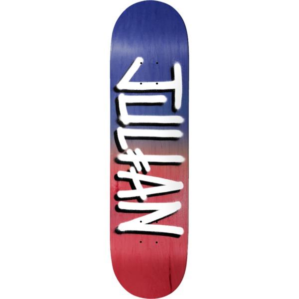 "Deathwish Skateboards Julian Davidson New Arrival Black / Red Skateboard Deck - 8"" x 31.5"""