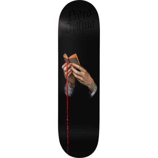 "Deathwish Skateboards Pedro Delfino The Good Book Skateboard Deck - 8.25"" x 31.5"""