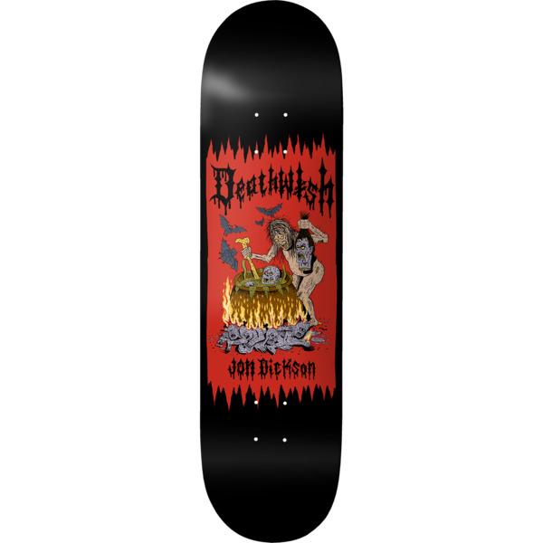 """Deathwish Skateboards Jon Dickson Death Wichz Skateboard Deck - 8.38"""" x 32"""""""