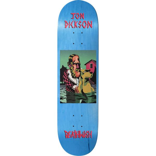 """Deathwish Skateboards Jon Dickson The Pond Skateboard Deck - 8"""" x 31.5"""""""