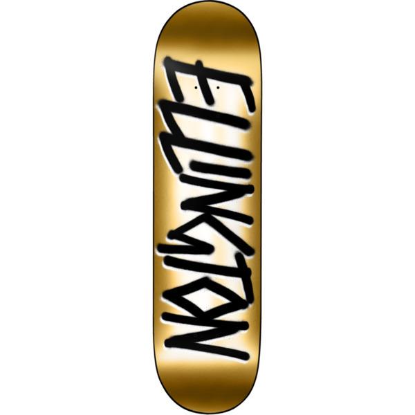 """Deathwish Skateboards Erik Ellington Gang Name Gold Foil Skateboard Deck - 8.5"""" x 32"""""""
