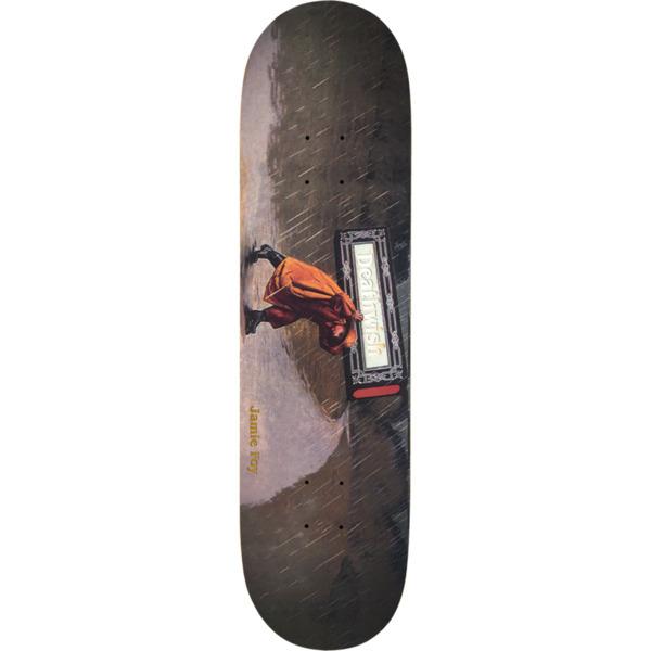 """Deathwish Skateboards Jamie Foy Carry The Burden Skateboard Deck - 8.12"""" x 31.5"""""""