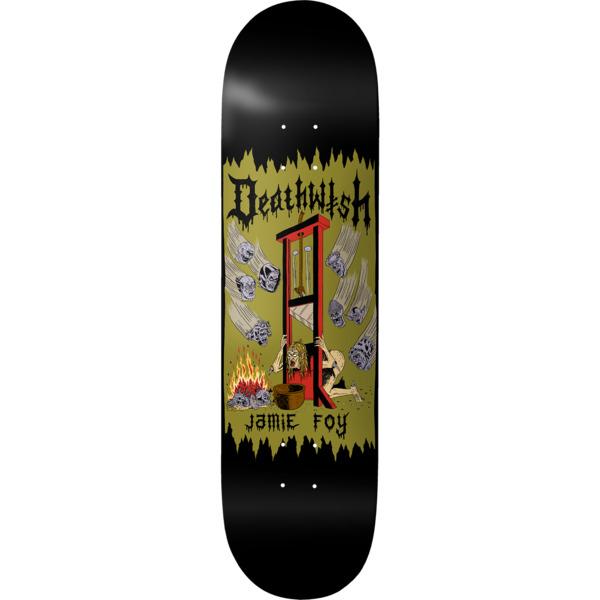 "Deathwish Skateboards Jamie Foy Death Wichz Skateboard Deck - 8.12"" x 31.5"""