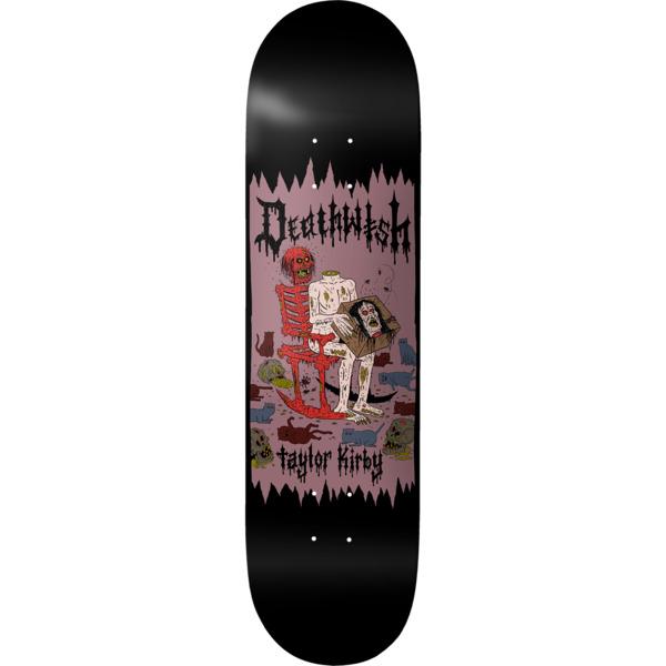 "Deathwish Skateboards Taylor Kirby Death Wichz Skateboard Deck - 8"" x 31.5"""