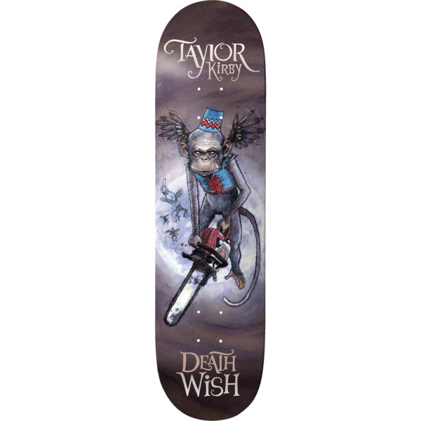 "Deathwish Skateboards Taylor Kirby Nikko Skateboard Deck - 8.25"" x 31.5"""