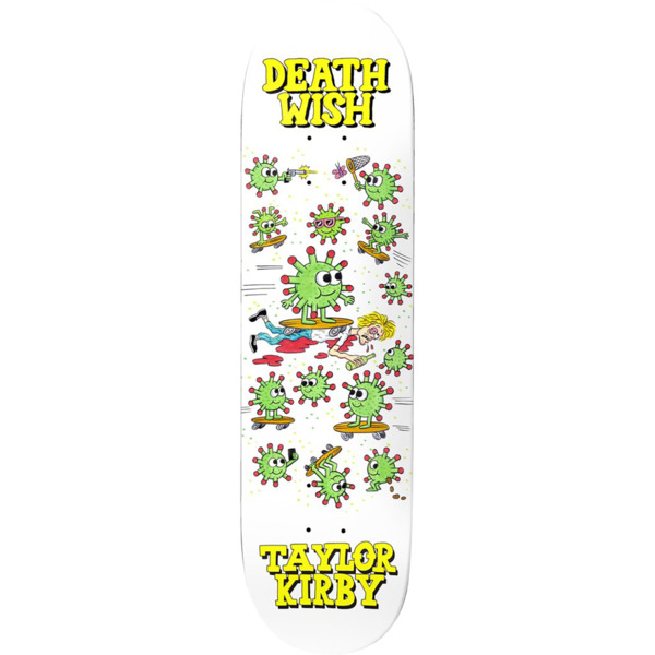 "Deathwish Skateboards Taylor Kirby Quarantine Skateboard Deck - 8.38"" x 32"""