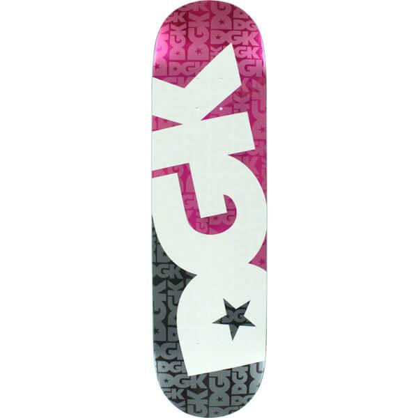 "DGK Skateboards Contrast Skateboard Deck - 8.25"" x 32"""