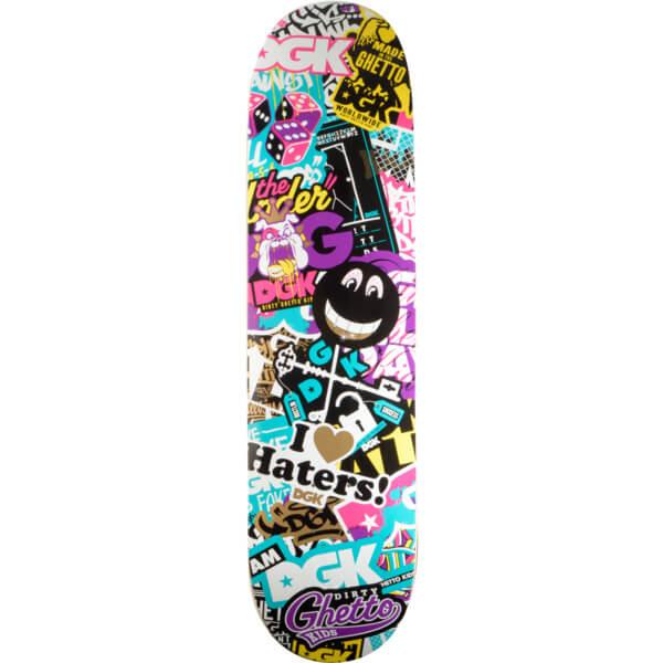 DGK Skateboards Trippy Collage Team Deck