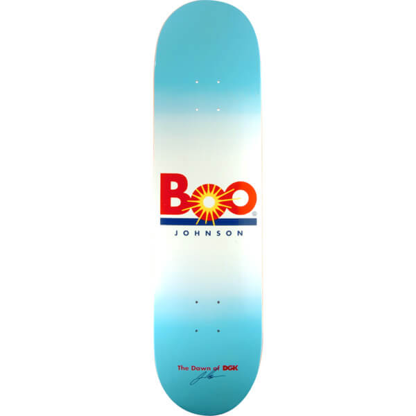 Dgk Skateboards Boo Johnson Cease And Desist Skateboard