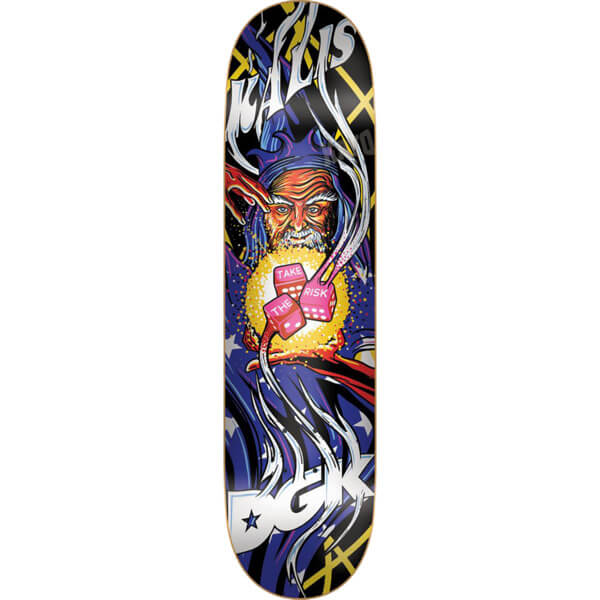 Dgk skateboards josh kalis black light skateboard deck 79 x 32 dgk skateboards black light skateboard deck aloadofball Gallery