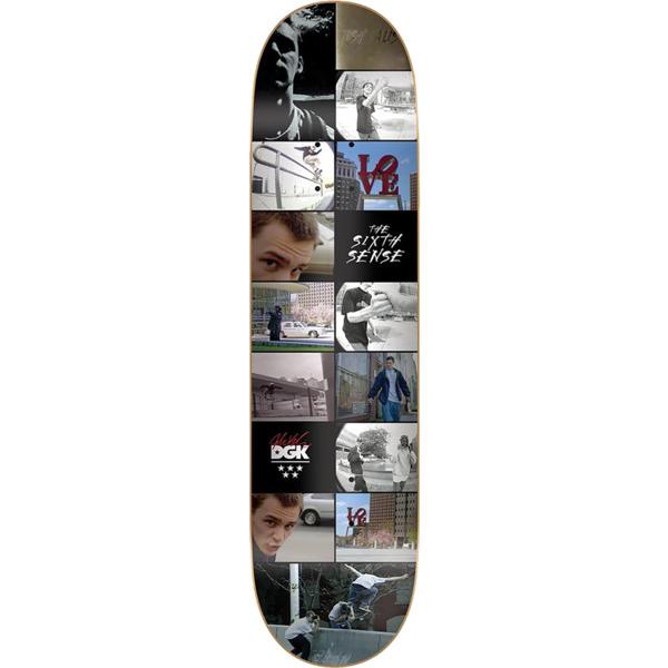 "DGK Skateboards Josh Kalis X TWS Sixth Sense Skateboard Deck - 8.25"" x 32"""