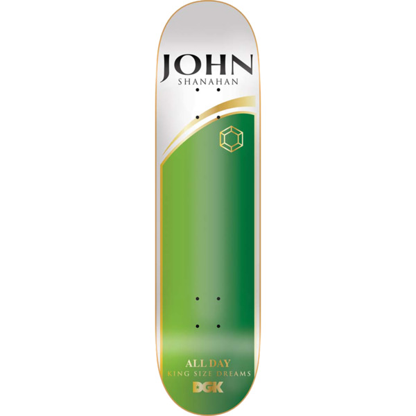 "DGK Skateboards John Shanahan Ashes To Ashes Skateboard Deck - 8.25"" x 32"""