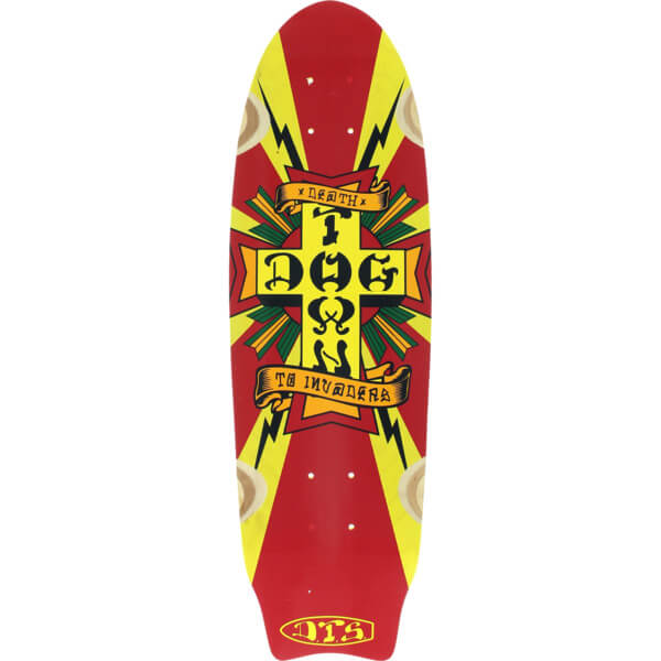 Dogtown Skateboards Death To Invaders Cruiser Deck