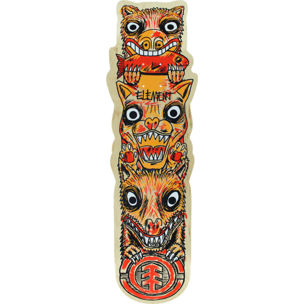 "Element Skateboards Totem Custom Skateboard Deck - 8.5"" x 32.7"""