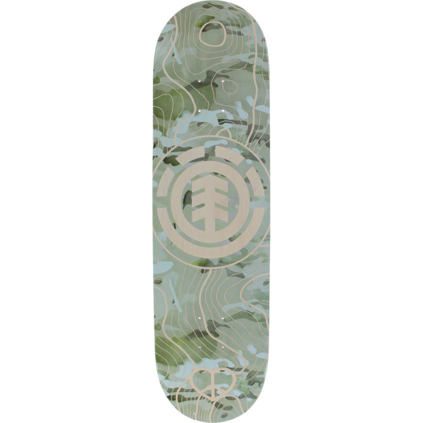 "Element Skateboards Future Nature Skateboard Deck - 8.25"" x 31.875"""