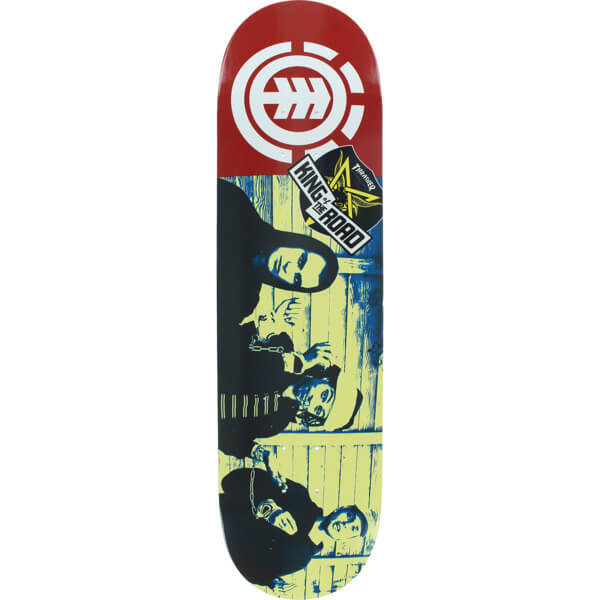 """Element Skateboards King of the Road Chain Gang Skateboard Deck - 8.2"""" x 32.2"""""""