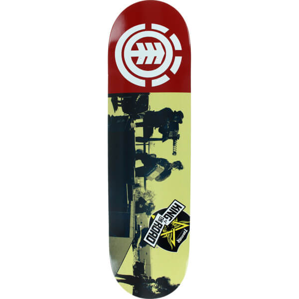"""Element Skateboards King of the Road Fire Squad Skateboard Deck - 8.2"""" x 32.2"""""""