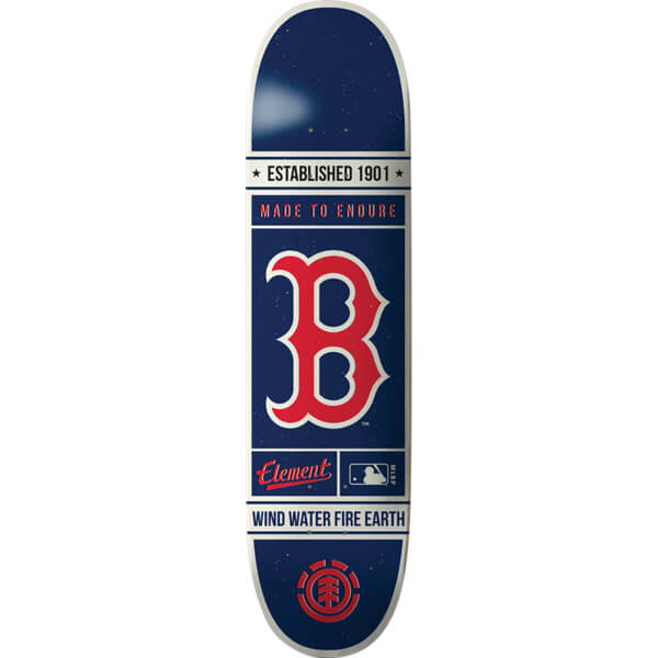 "Element Skateboards MLB Boston Red Sox Established Skateboard Deck - 8"" x 31.75"""