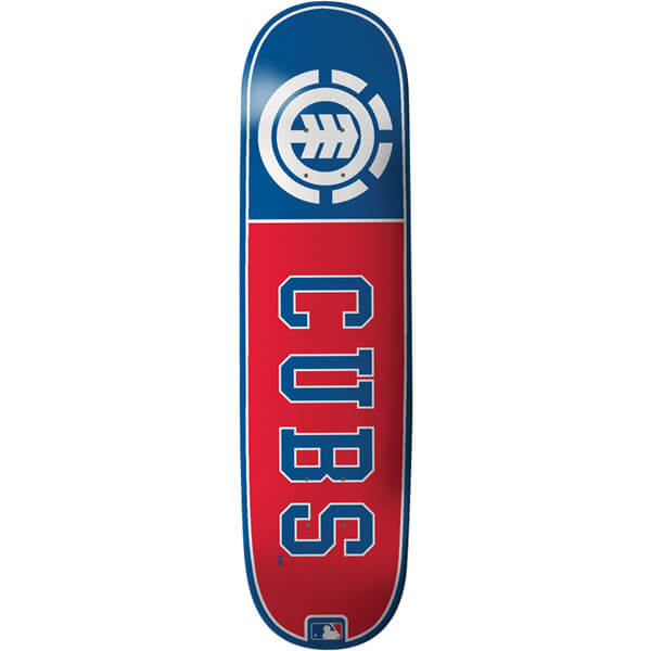 Element Skateboards Chicago Cubs Club MLB Deck