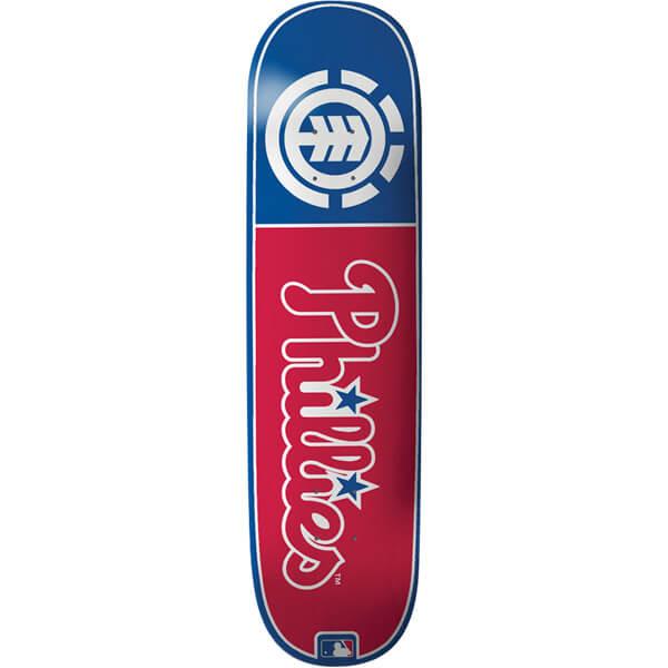 Element Skateboards Philadelphia Phillies Club MLB Deck