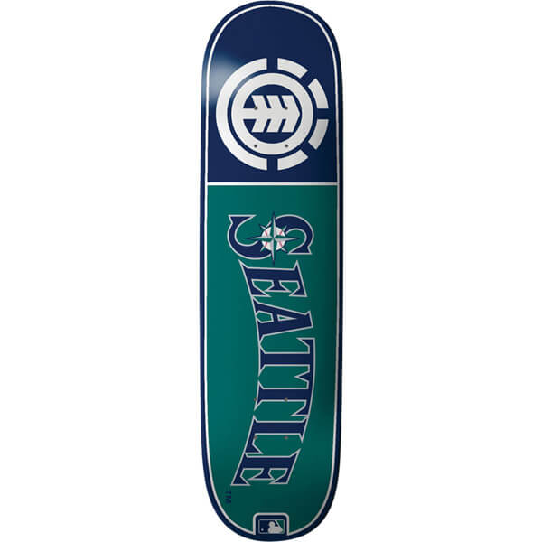 Element Skateboards Settle Mariners Club MLB Deck