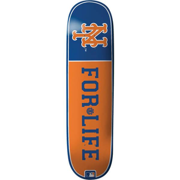 Element Skateboards New York Mets for Life MLB Deck