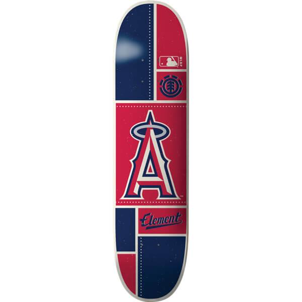 """Element Skateboards MLB Los Angels Angels Square Skateboard Deck - 8"""" x 31.75"""""""