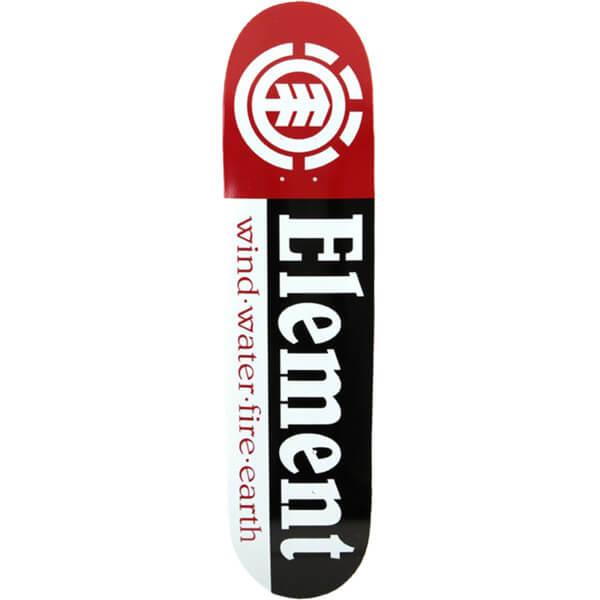 "Element Skateboards Section Skateboard Deck - 8"" x 31.75"""