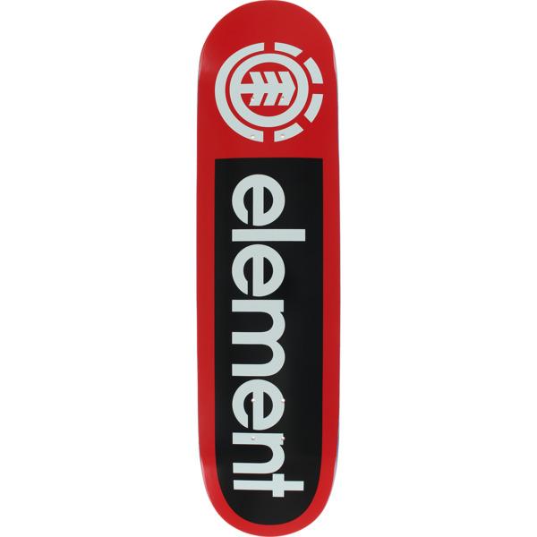 """Element Skateboards Primo Red Skateboard Deck - 7.8"""" x 31.7"""""""
