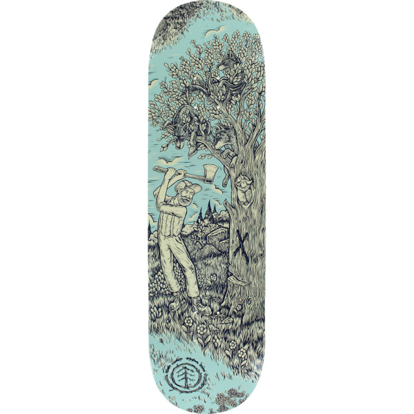 "Element Skateboards Timber TL Faller Skateboard Deck - 8.5"" x 32.75"""