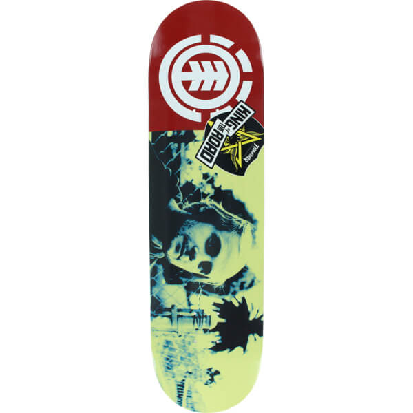 "Element Skateboards Madars Apse King of the Road Head Skateboard Deck - 8.2"" x 32.2"""