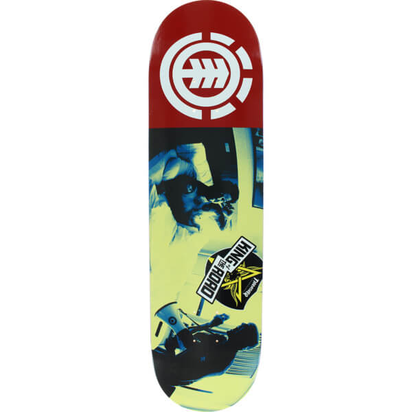 "Element Skateboards Bam Margera King of the Road Bam Wake Up Skateboard Deck - 8.2"" x 32.2"""