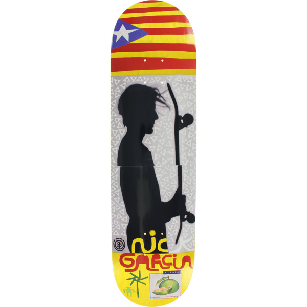"Element Skateboards Nick Garcia Freditano Skateboard Deck - 8.2"" x 32.25"""