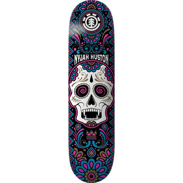 "Element Skateboards Nyjah Huston Calavera Skateboard Deck - 8"" x 31.75"""