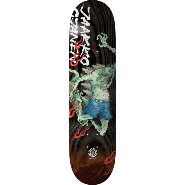 "Element Skateboards Jaakko Ojanen Reptilicus Skateboard Deck - 8.3"" x 32.25"""