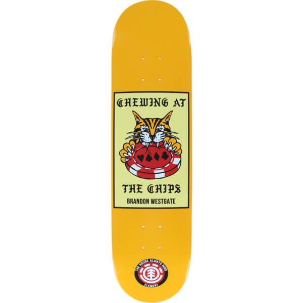 Element Skateboards Brandon Westgate Chips Skateboard Deck - 8 x 31.75 -  Warehouse Skateboards d0b3b109cd3